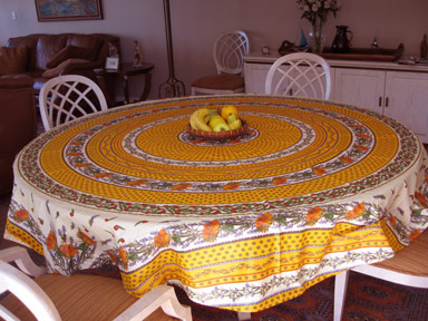 Superior French Tablecloths And Provencal Fabrics