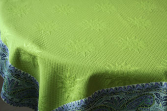 quilted large tablecloth