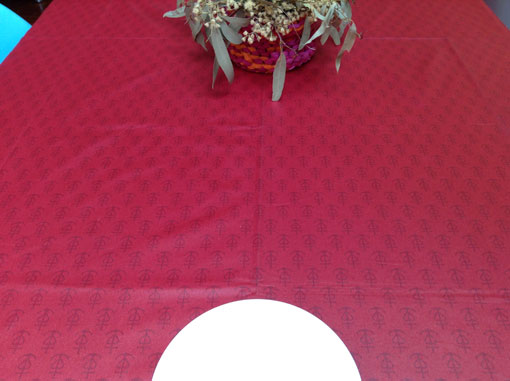 Acrylic coated tablecloth from Arles en Provence