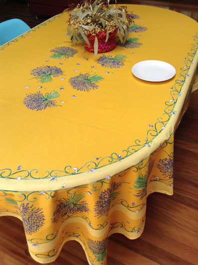Provencal Cotton Tablecloth