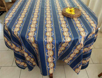 blue provence tablecloth