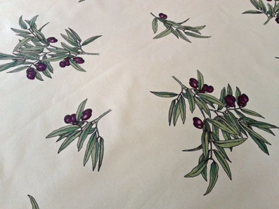 olive design provence tablecloth