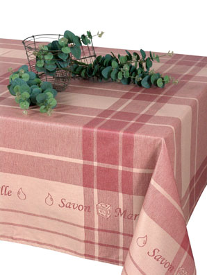 french jacquard oilcloth