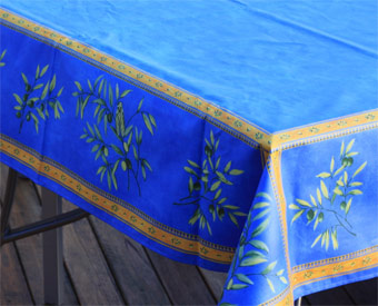 treated tablecloth