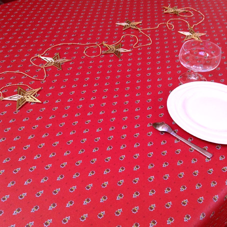 Provencal Christmas tablecloth