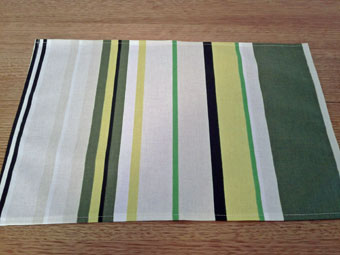 basque coated placemat