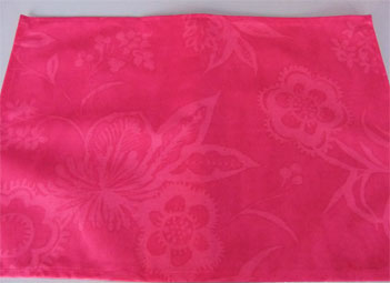 acrylic coated placemat pink