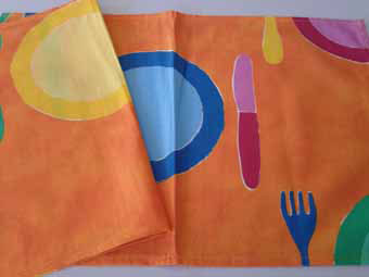 cotton french placemat