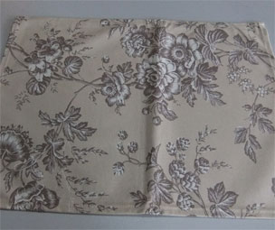 toile de jouy cotton placemat