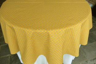 Elisa Red All Over 60in Round Cotton Tablecloth. AU$66 Or US$55.45