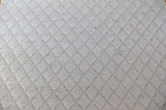 thick woven tablecloth