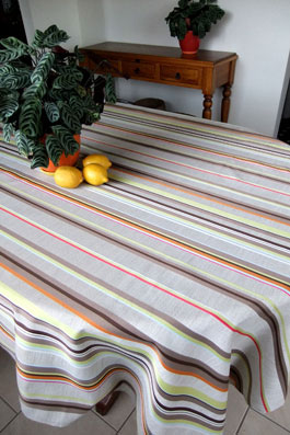 Large polyester tablecloth