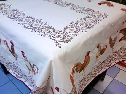 Quilted Table Linens