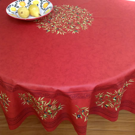 Large Teflon Coated Round Cloth For 6 To 8 Seater Table