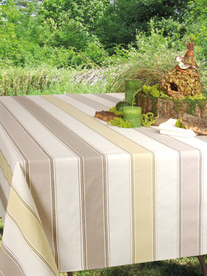 Plastic Coated Basque Tablecloth ...