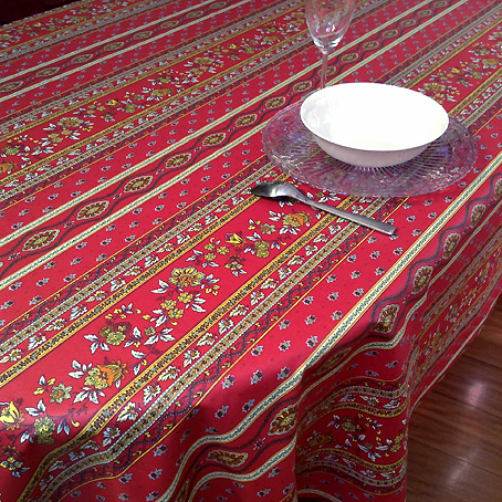 Exceptionnel ... Plastic Coated French Tablecloth With Provencal Design